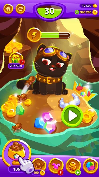 Bubbu Jewels - Merge Puzzle screenshot-4