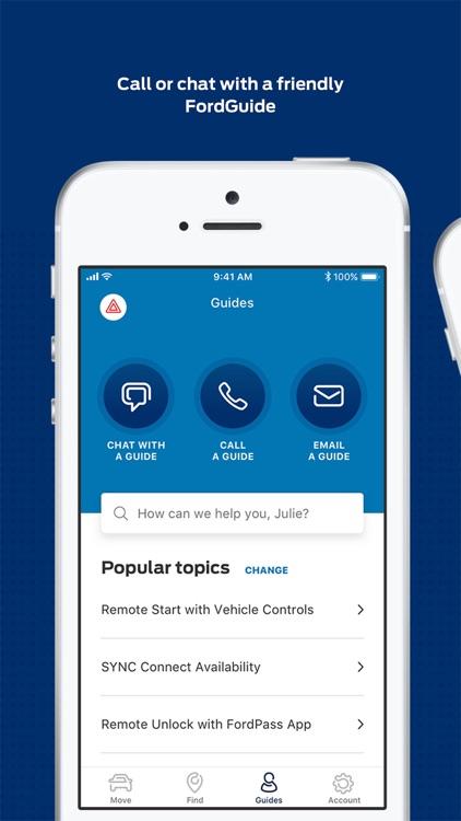 FordPass - Fuel, Park, Dealers screenshot-4