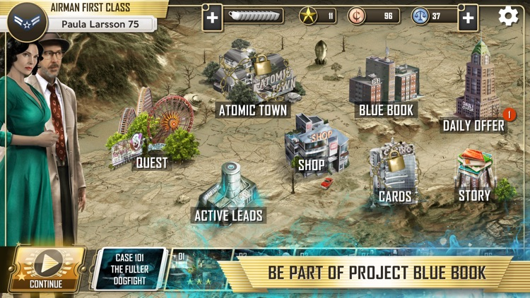 Project Blue Book: The Game screenshot-6