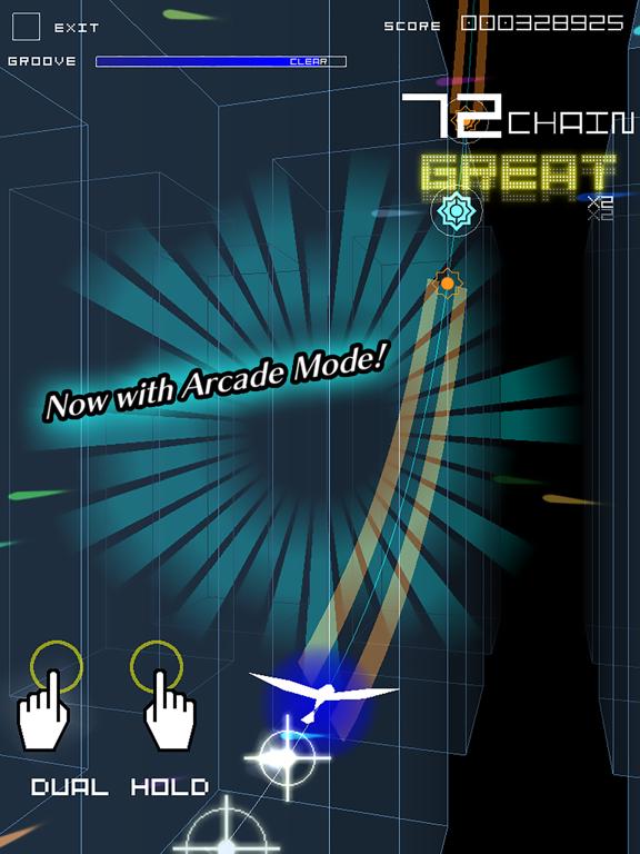 Groove Coaster 2 Original Style screenshot