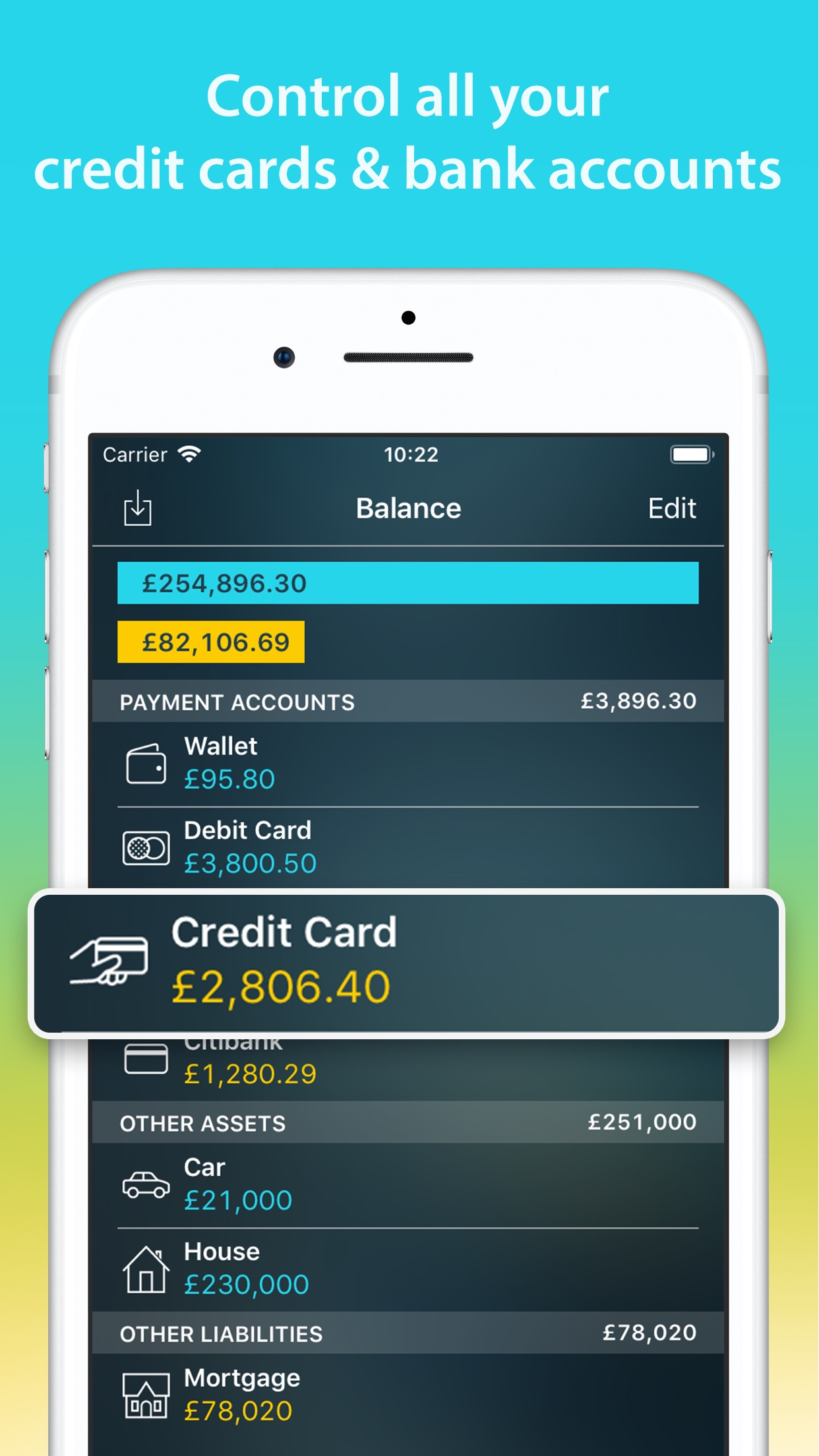 Money Pro: Personal Finance Screenshot