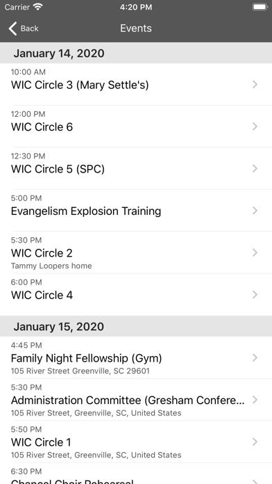 Second Presbyterian Greenville screenshot 2