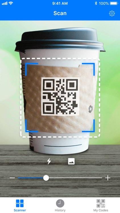 Barcode: QR code scanner