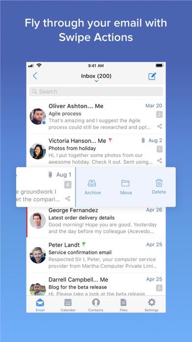 Zoho Mail - Email and Calendar screenshot four