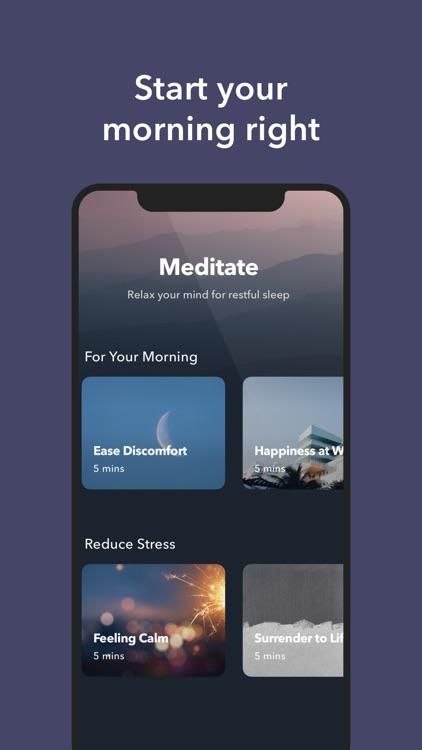 Simple Habit Sleep, Meditation screenshot-4