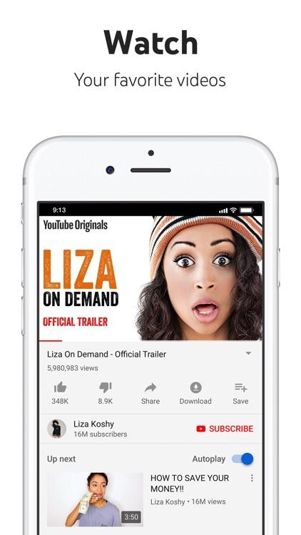 YouTube: Watch, Listen, Stream screenshot-0