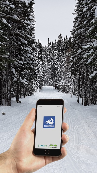 Ride Sledmass Trails 2019-2020 Screenshot