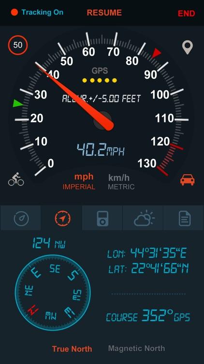 Speedometer GPS - TM 2 screenshot-4