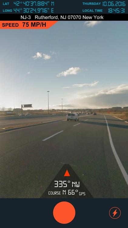 Speedometer GPS - TM 2 screenshot-5