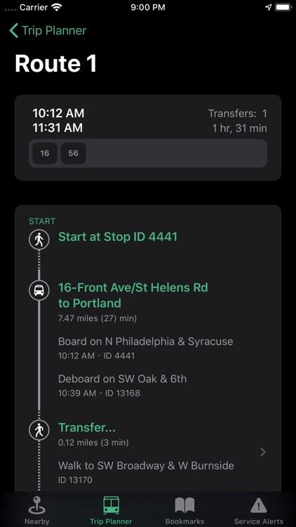 PDX Transit screenshot-4