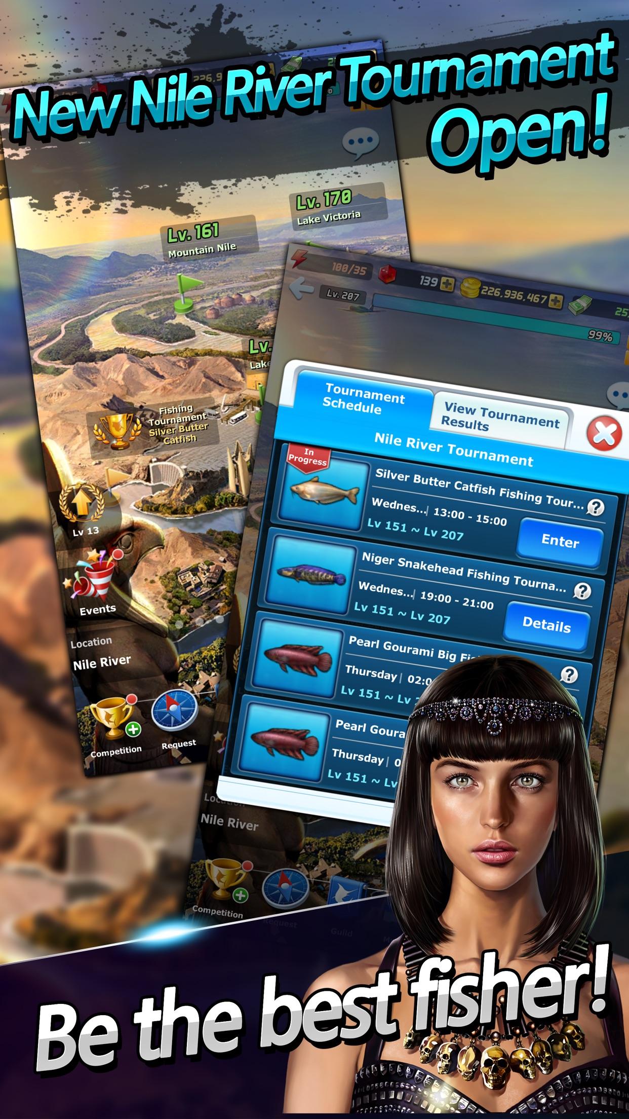 Улётный клёв: рыбалка в 3D Screenshot