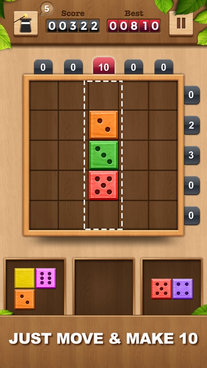 TENX - Wooden Number Puzzle screenshot-0