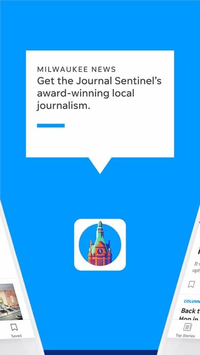 Milwaukee Journal Sentinel Screenshot