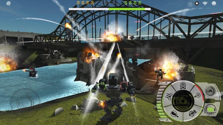 Mech Battle - Robots War Game screenshot-0
