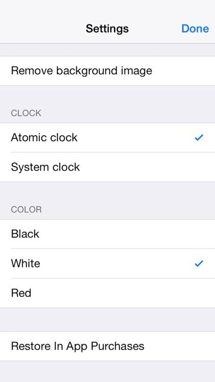 Atomic Clock PRO screenshot-4