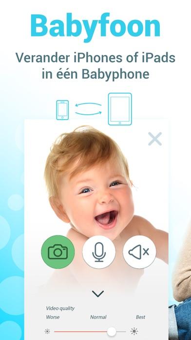Screenshot for Babyfoon - via Wifi, 3G, LTE in Netherlands App Store