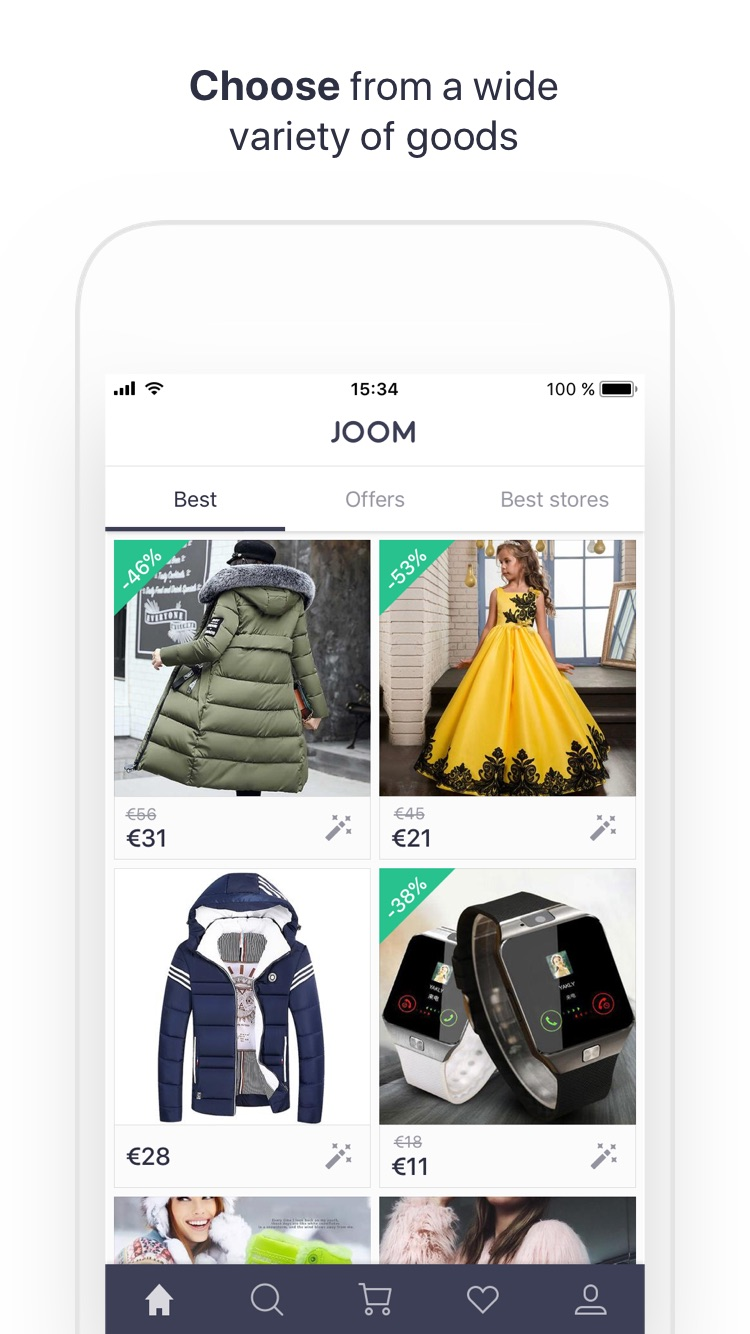 JOOM: Buy, save, & shop offers Screenshot