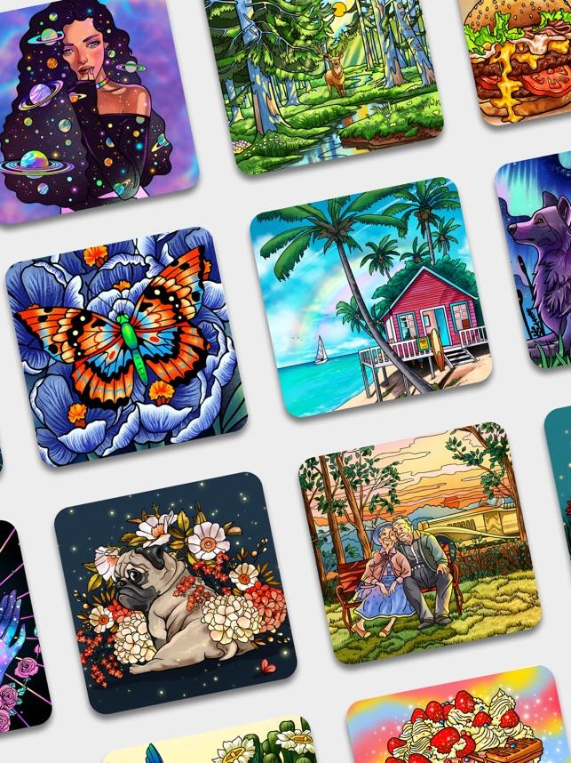 Peinture Par Numero Coloriage Dans L App Store