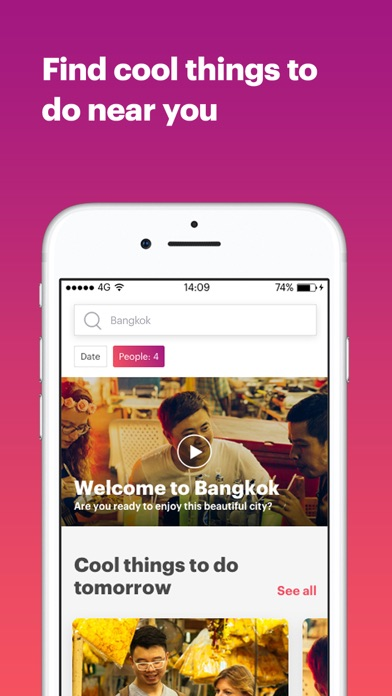 Withlocals Tours & Travel App screenshot one