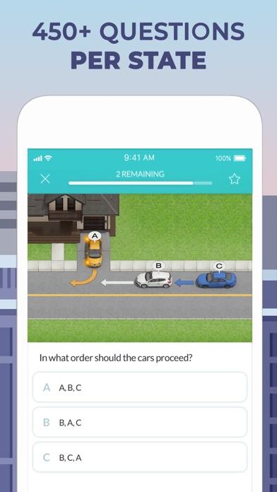 DMV Practice Test by Zutobi app image