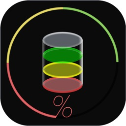 BatteryNow - Big Digital Clock