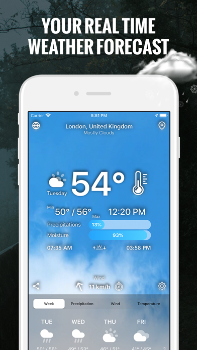 The Weather App - Live Today Screenshot