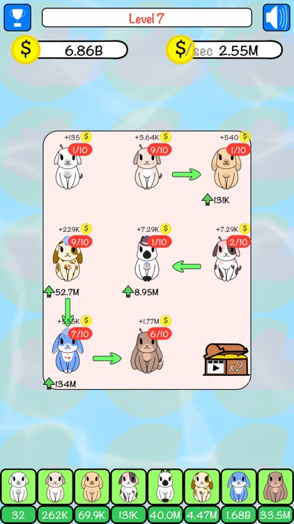 Combo Hares: Upgrade & Combine screenshot-8