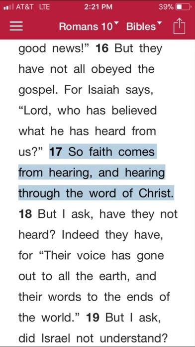 Bible.is - Audio Bibles ScreenShot0