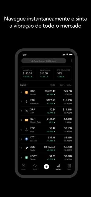 Blockfolio - Preço do Bitcoin na App Store