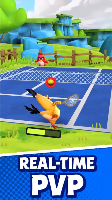 Angry Birds Tennis screenshot 2