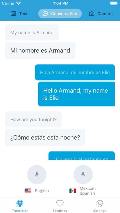 Translator · Screenshot