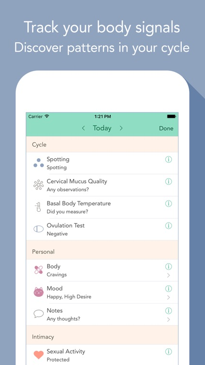 Cycles – Period & PMS Tracker