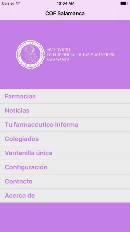 Salamanca Farmacias