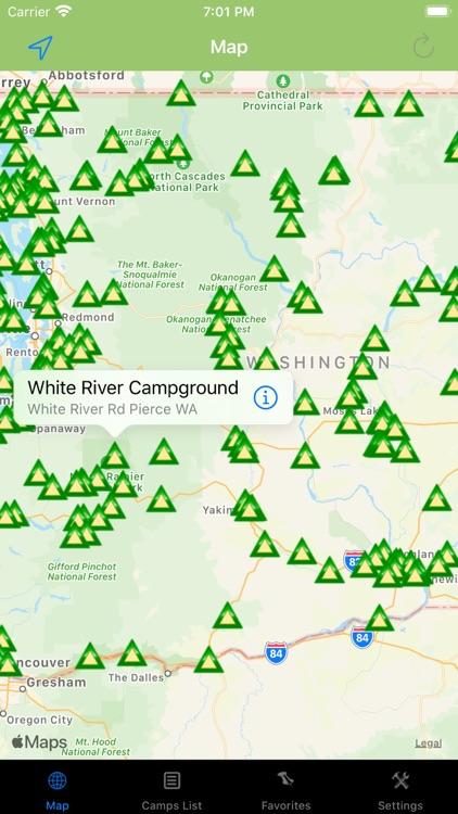 Washington – Camping & RV's