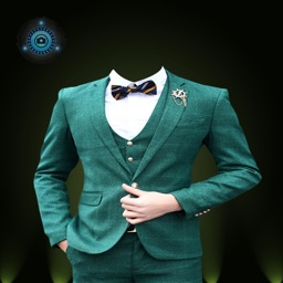 Stylish Man Photo Suit