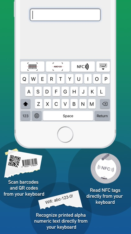 ScanKey - QR OCR NFC Keyboard