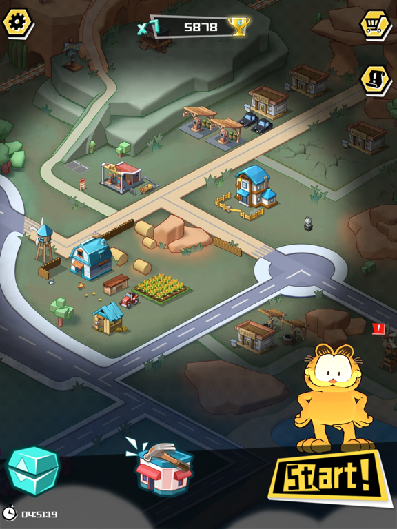 Garfield Run: Road Tour screenshot 10
