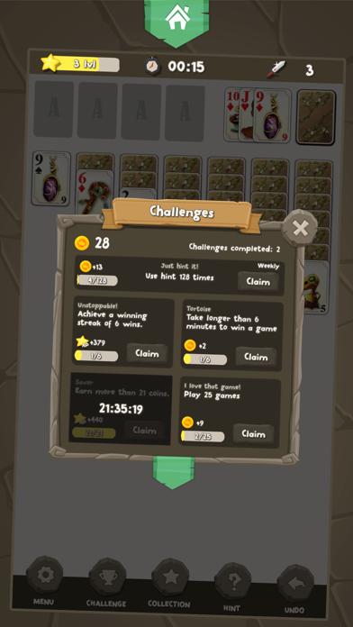 Solitaire Kings screenshot two