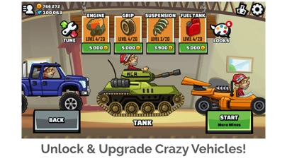 Screenshot from Hill Climb Racing 2