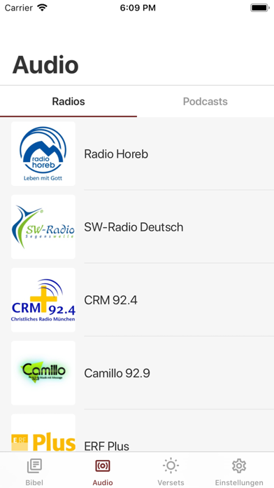 messages.download Bibel · software