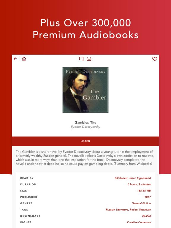 Audiobooks HQ + Screenshots