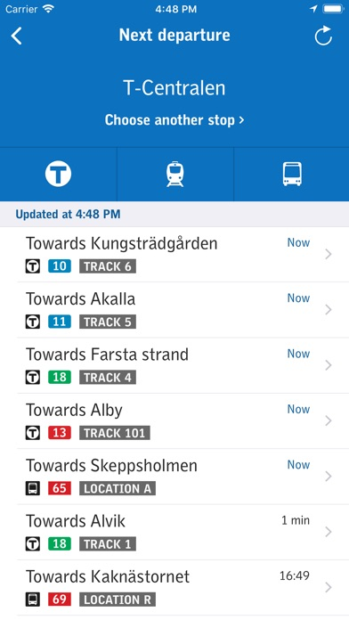 Screenshot for SL-Journey planner and tickets in Denmark App Store