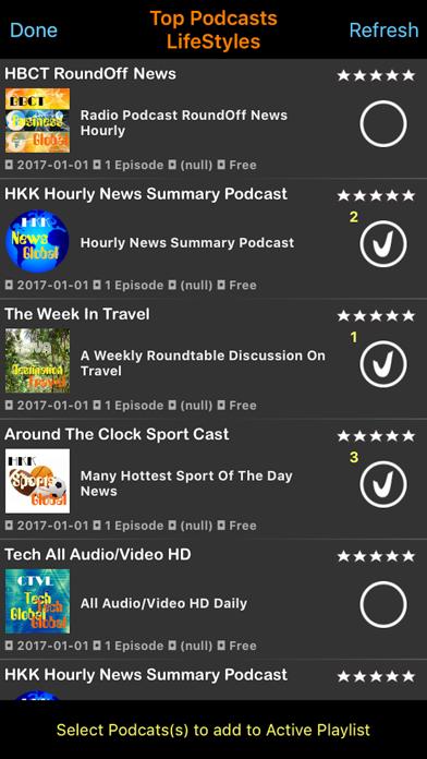 Podcast Live! screenshot three