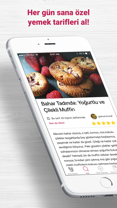 download Yemek.com: Yemek Tarifleri indir ücretsiz - windows 8 , 7 veya 10 and Mac Download now
