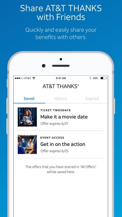 AT&T THANKS® screenshot-4
