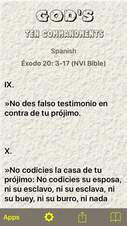 God's Ten Commandments screenshot-2