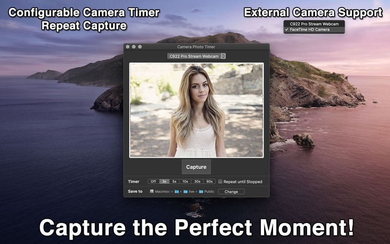 Camera Photo Timer for Mac