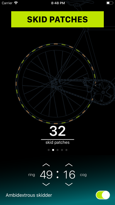 Chainring: Bicycle Gear Calc Screenshot