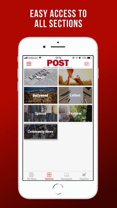 Image of Post SA for iPhone