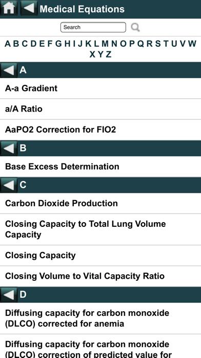 EBMcalc Pulmonary screenshot two